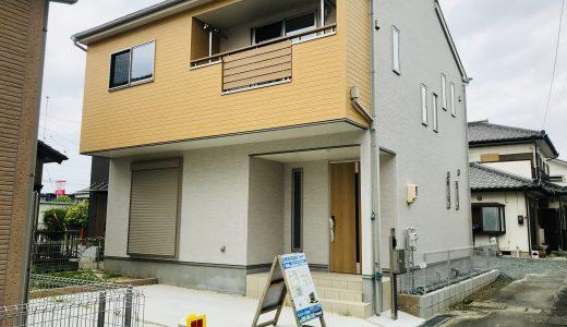【成約】豊橋市花田町越水の新築戸建て1号棟